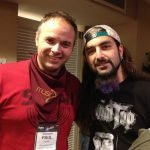 Paul Hose with Mike Portnoy
