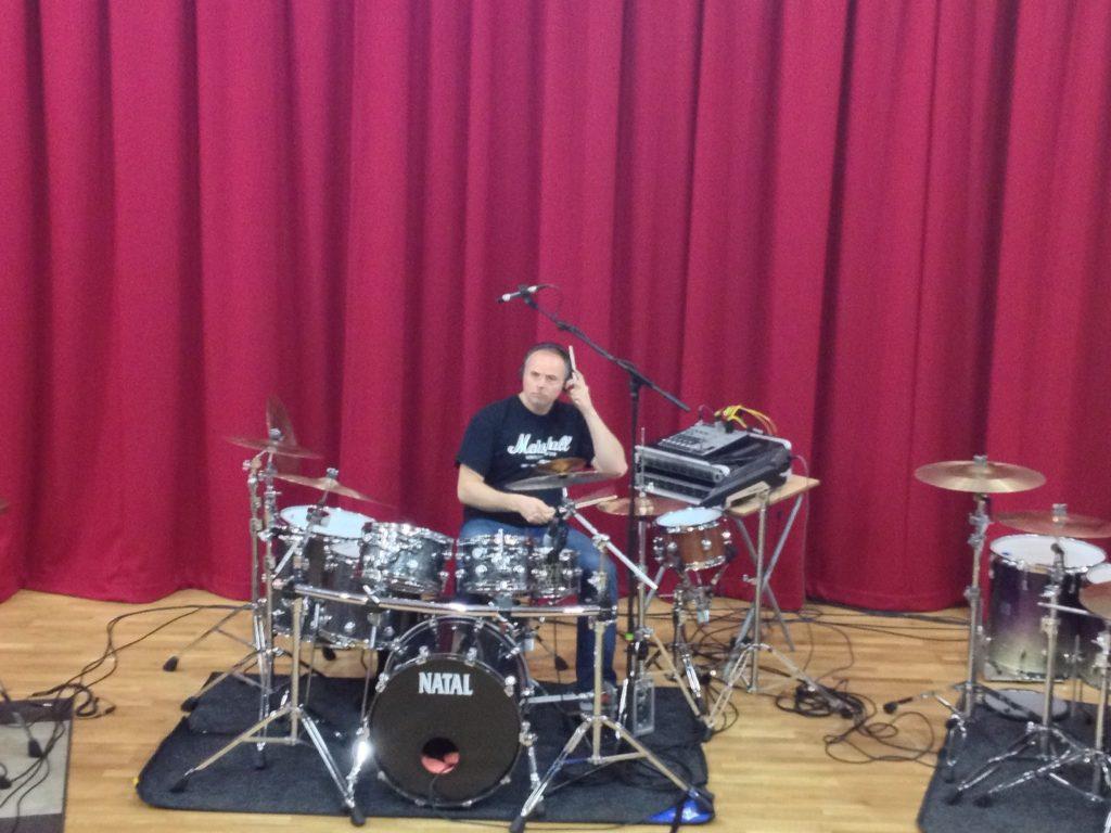 Paul Hose drum clinic