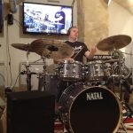 Paul Hose drum clinic in Paris