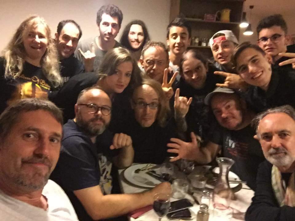Provence Drum Camp 2016 - Dinner!