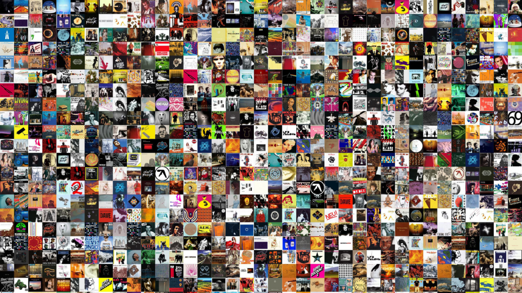 The death of the album and the decline of the music industry