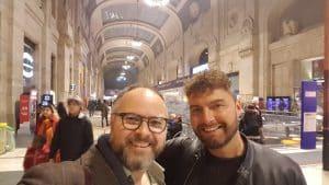 Paul Hose and Lee Wrathe - Milan
