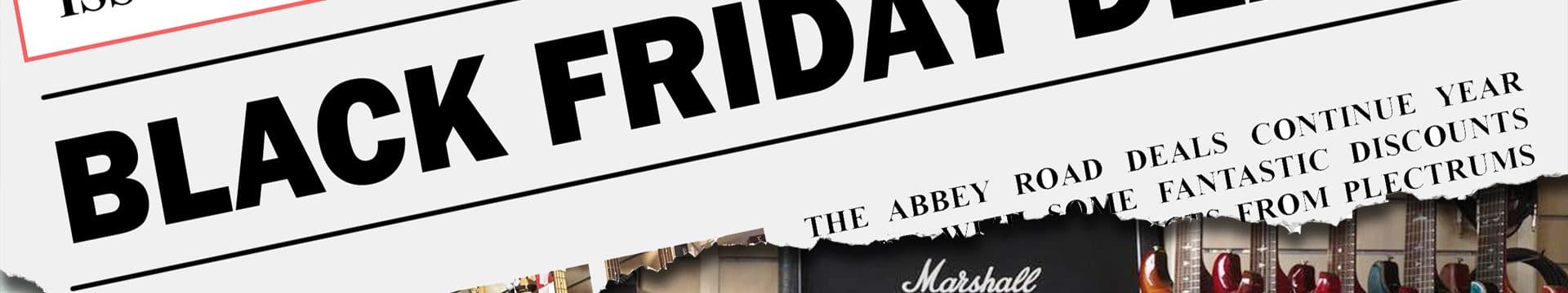 Black Friday Deals At Abbey Road Music