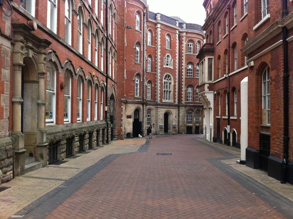 The Lace Market, Nottingham