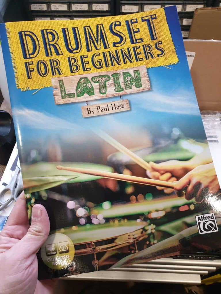 Drumset for Beginners Latin Paul Hose